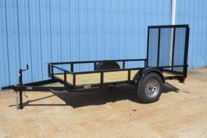 single axle trailers